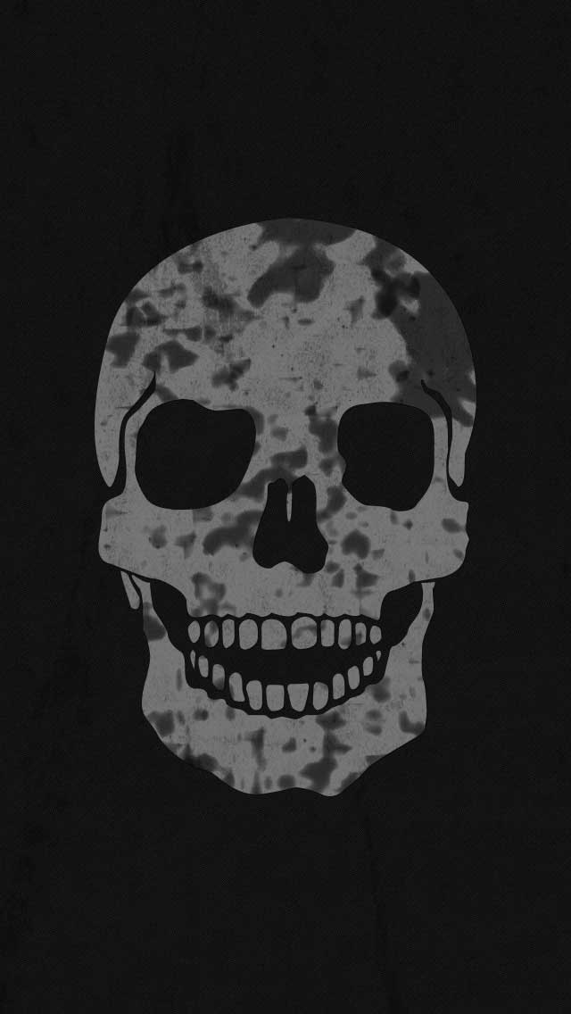 skull wallpaper for iphone wallpapersafari. Black Bedroom Furniture Sets. Home Design Ideas