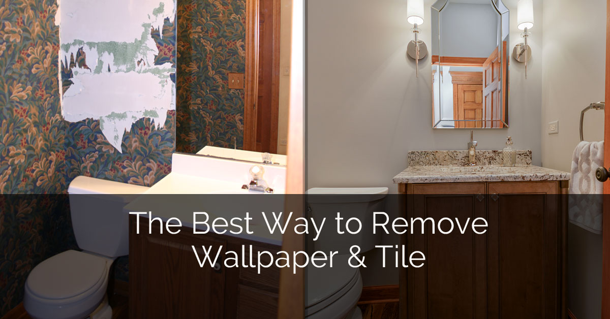 The Best Way to Remove Wallpaper Tile Home Remodeling 1200x628