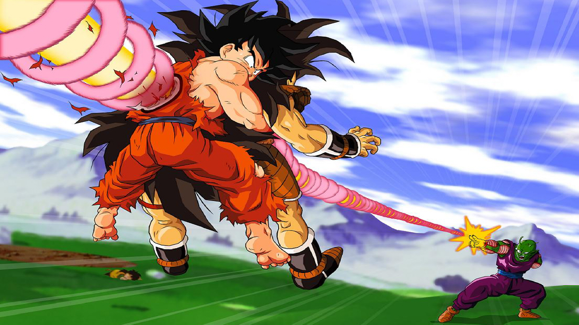Image for Piccolos Special Beam Dragon Ball Z Wallpaper PC 1920x1080