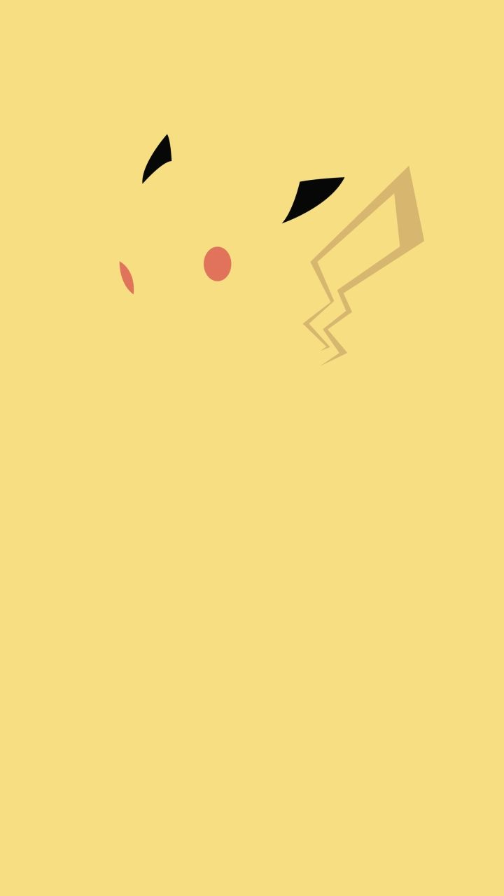 Minimalist Pokemon phone wallpaper 720x1280