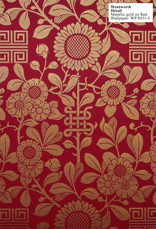 Charles Rupert Designs   Historic Wallpapers 500x733