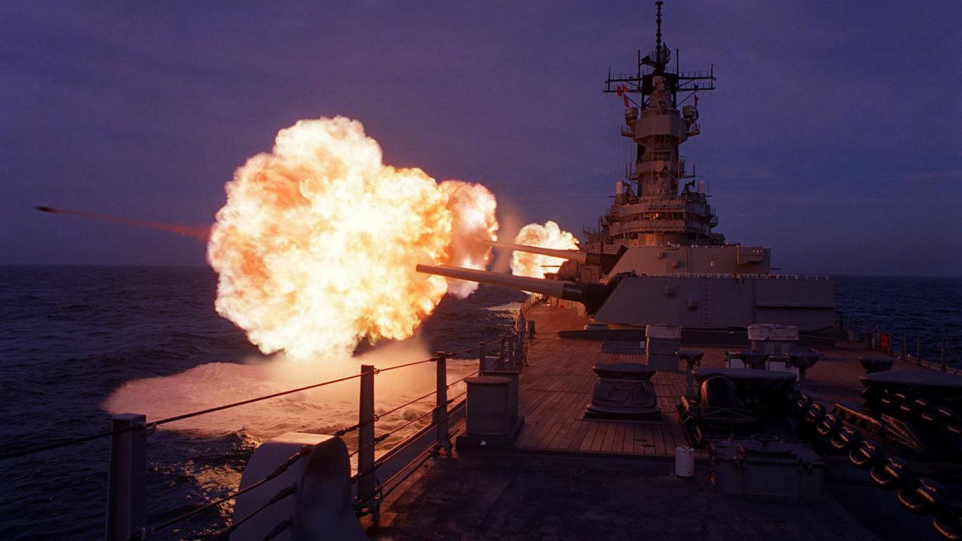 Battleship uss missouri wallpaper HQ WALLPAPER   2426 1366x768