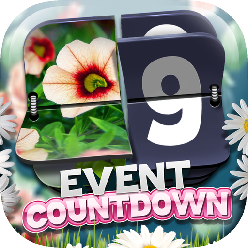 Event Countdown Beautiful Wallpaper   Flower in the Garden Pro   Wiki 512x512