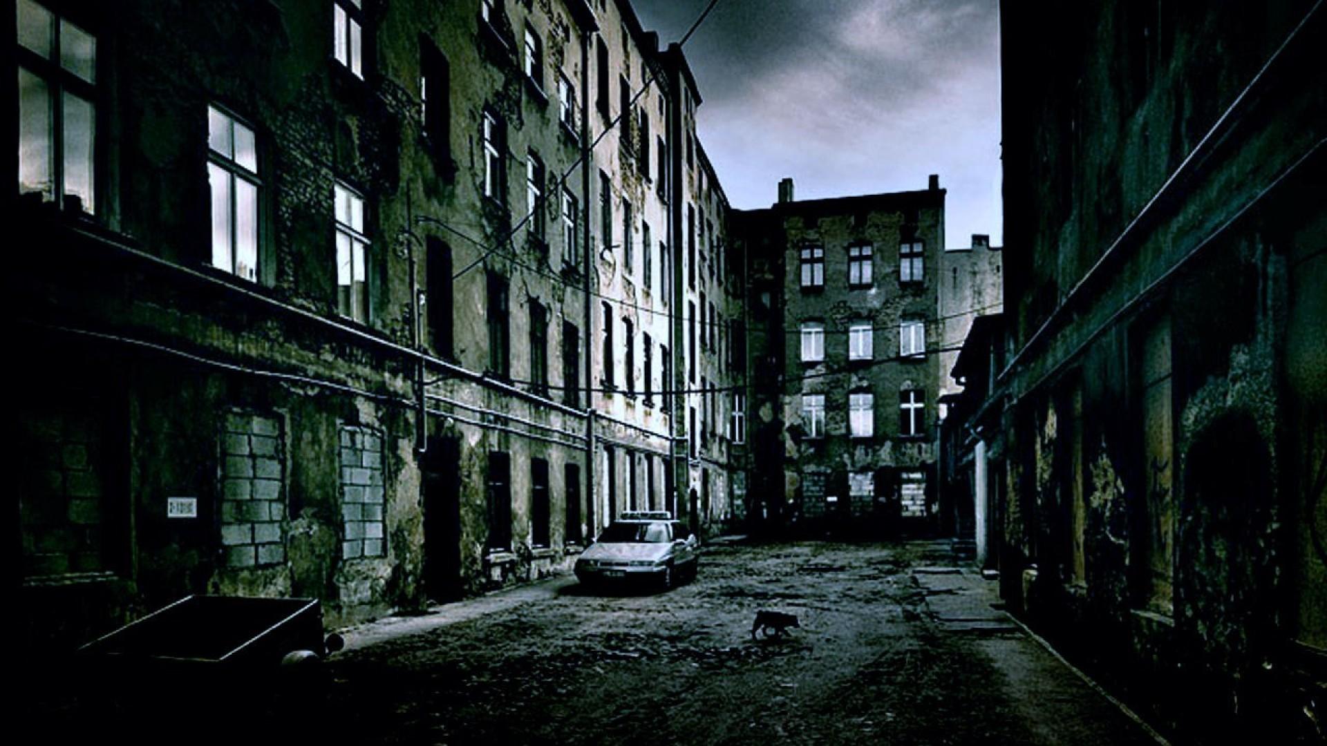 ScreenHeaven High quality wallpaper dark city buildings 1920x1080