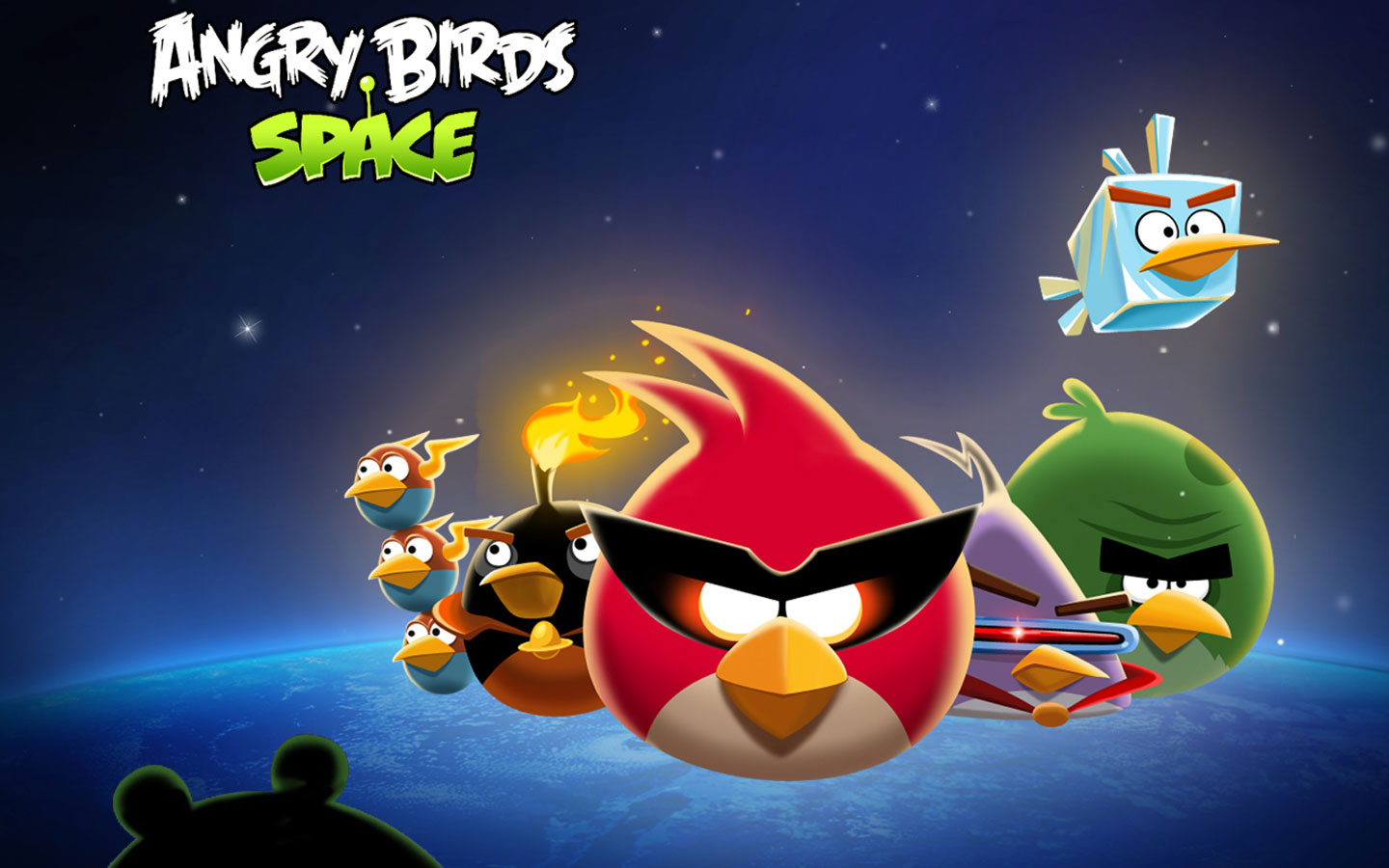 Angry Birds Space Wallpaper   Angry Birds Wallpaper 32221385 1440x900
