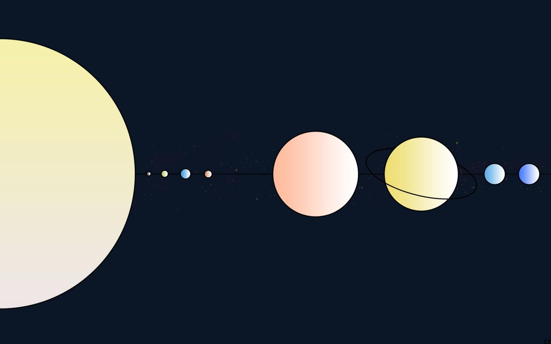 planets solar system wallpaper 1920x1200 - photo #10