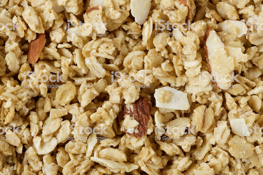 Almond Granola Background Stock Photo More Pictures of Almond 1024x683