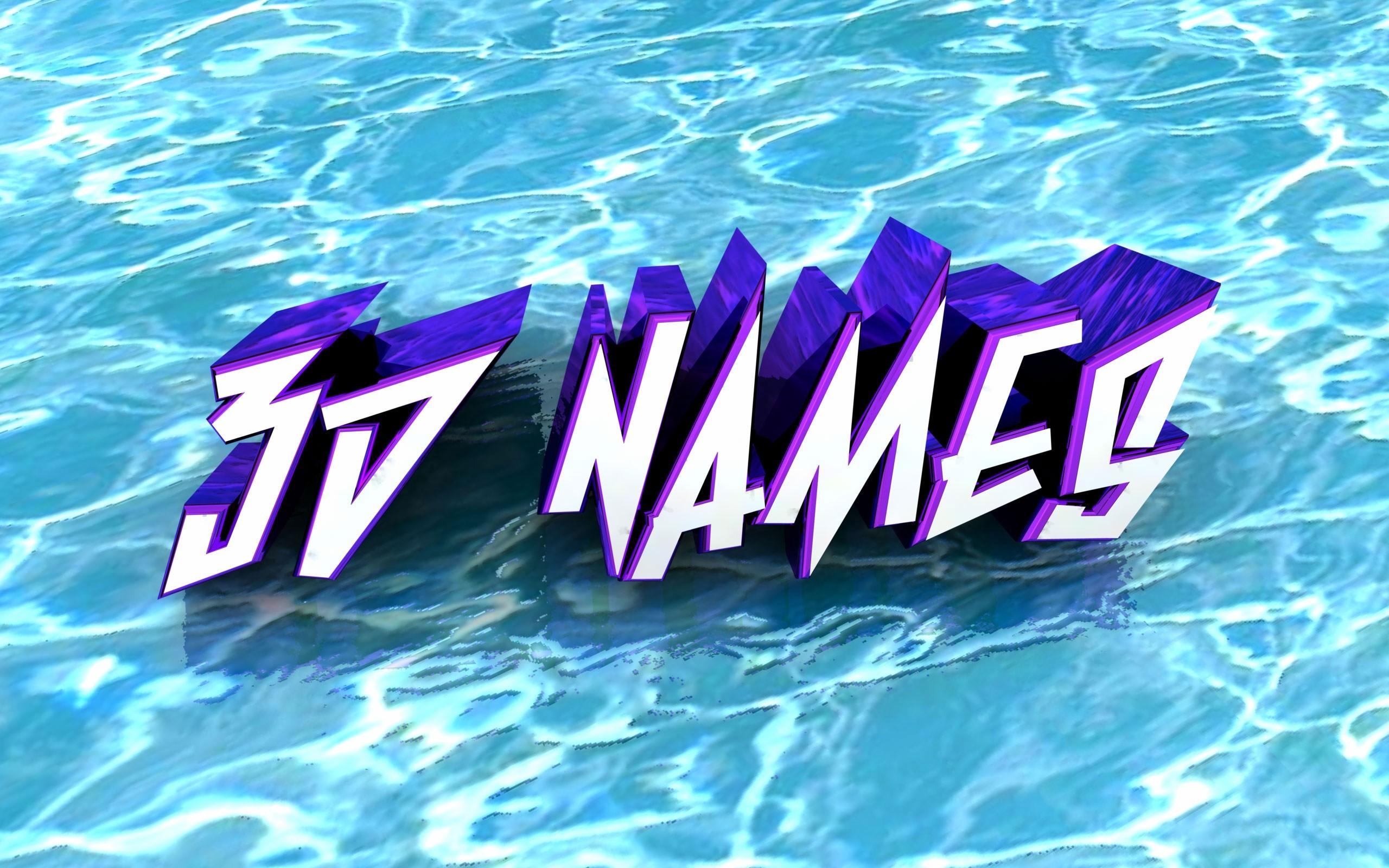 3D Name Wallpaper 2560x1600