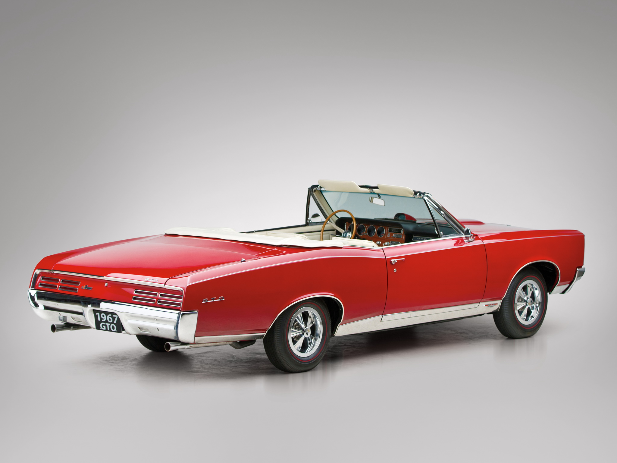 1967 Pontiac Tempest GTO Convertible muscle classic f wallpaper 2048x1536