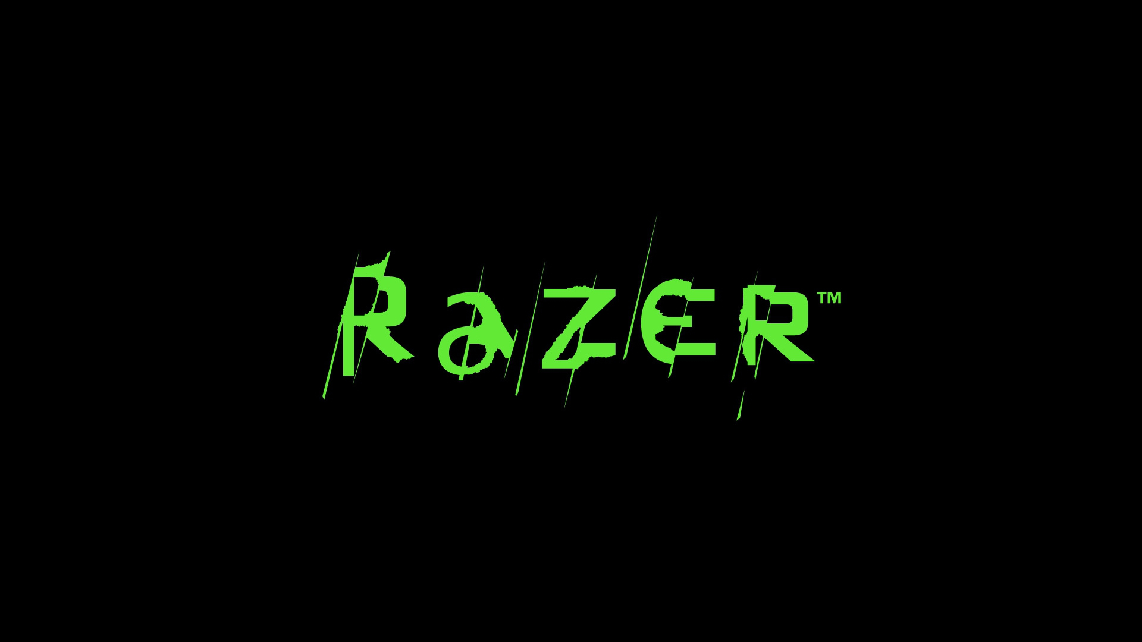 Download 3840x2160 Razer Logo Text Wallpaper Background 4K Ultra HD 3840x2160