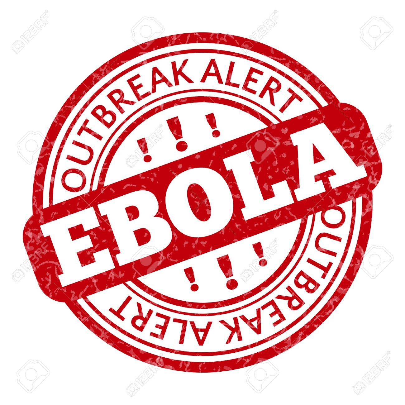 Red Stamp With Ebola Concept Text On White Background Stock Photo 1300x1300