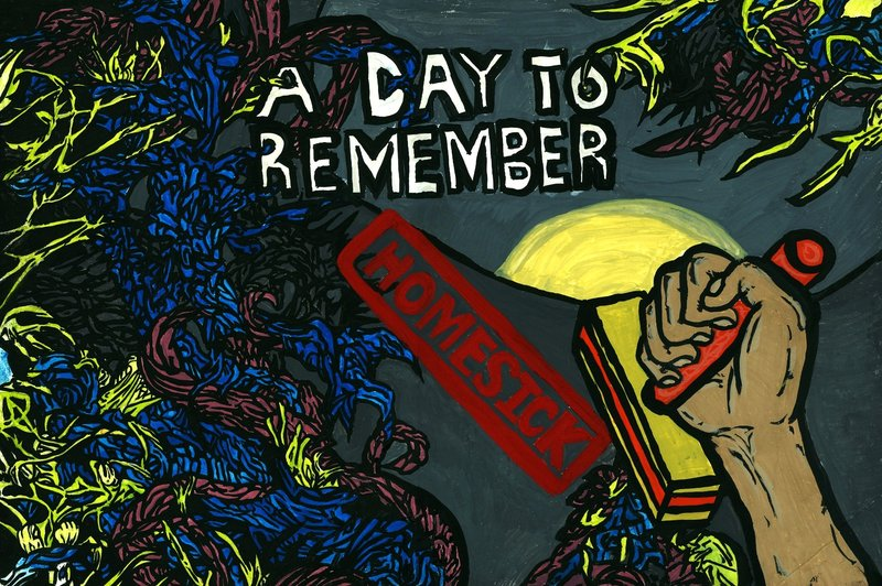 Day To Remember Homesick Album Cover Wallpaper Images Pictures 800x532