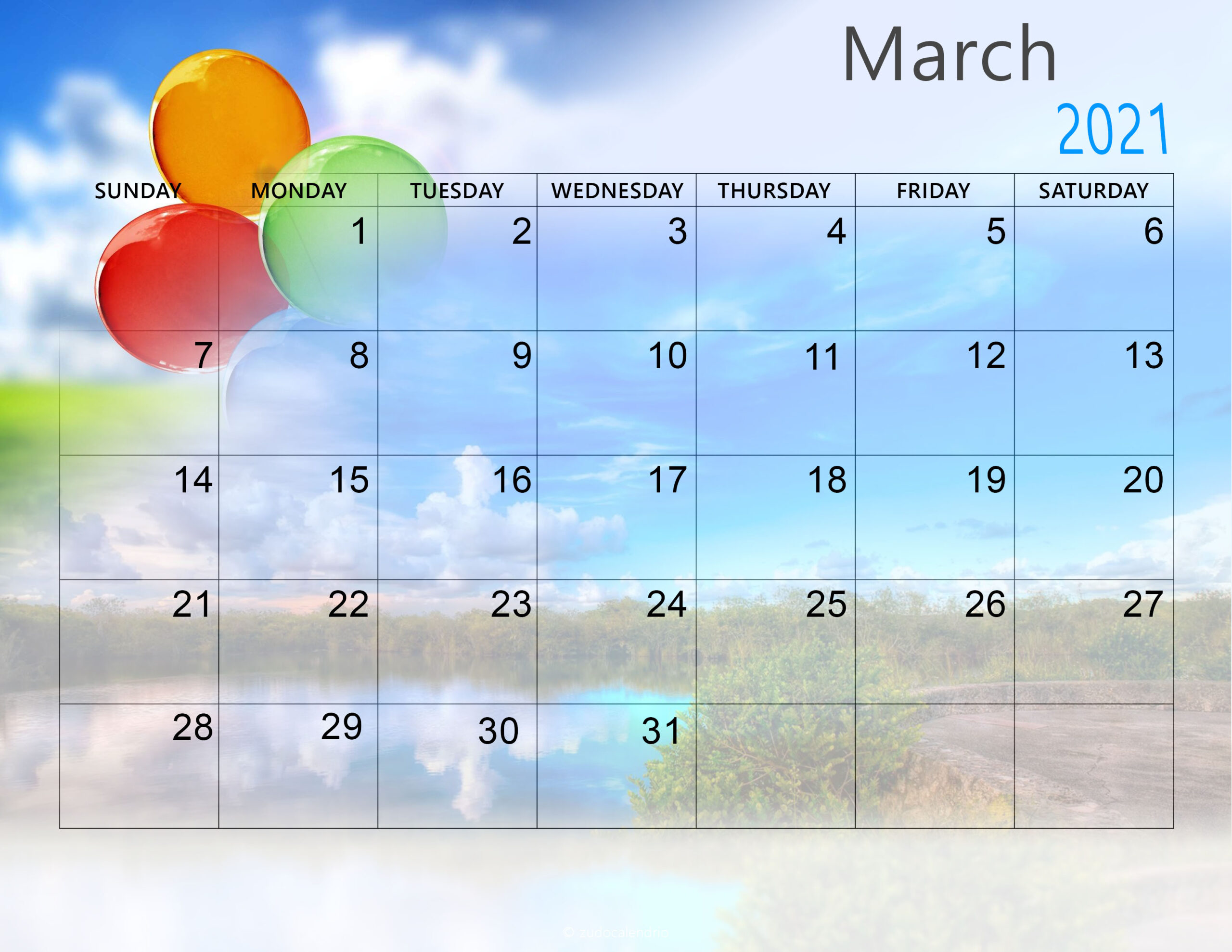 Cute March 2021 Calendar Desktop Wallpaper   Printable Calendar