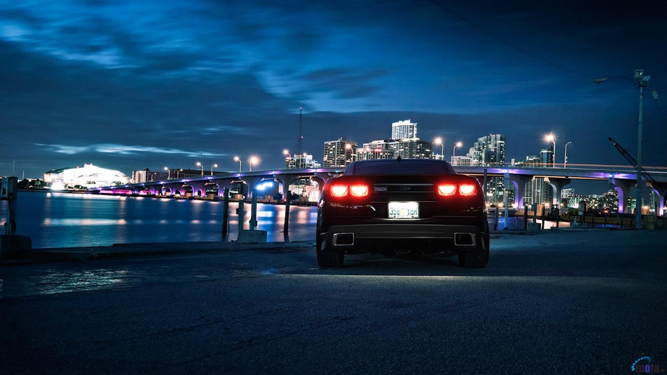 Wallpaper Chevrolet Camaro SS Custom 1366 x 768 Desktop wallpapers 1366x768