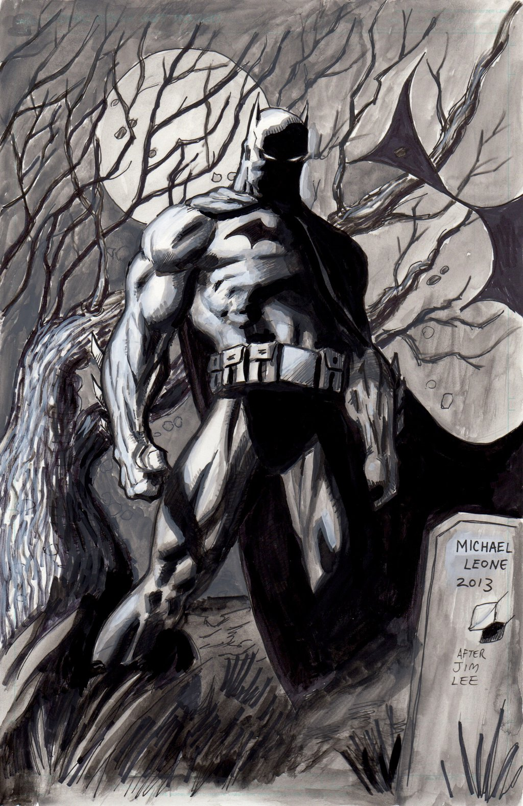 1024x1577px Jim Lee Batman Wallpaper 1024x1577