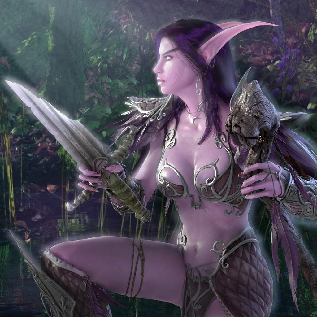Free download night elf world of warcraft wow world of