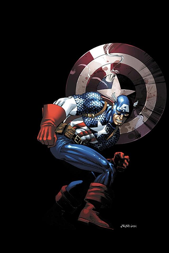 Captainamericalogoiphonewallpaper 640x960
