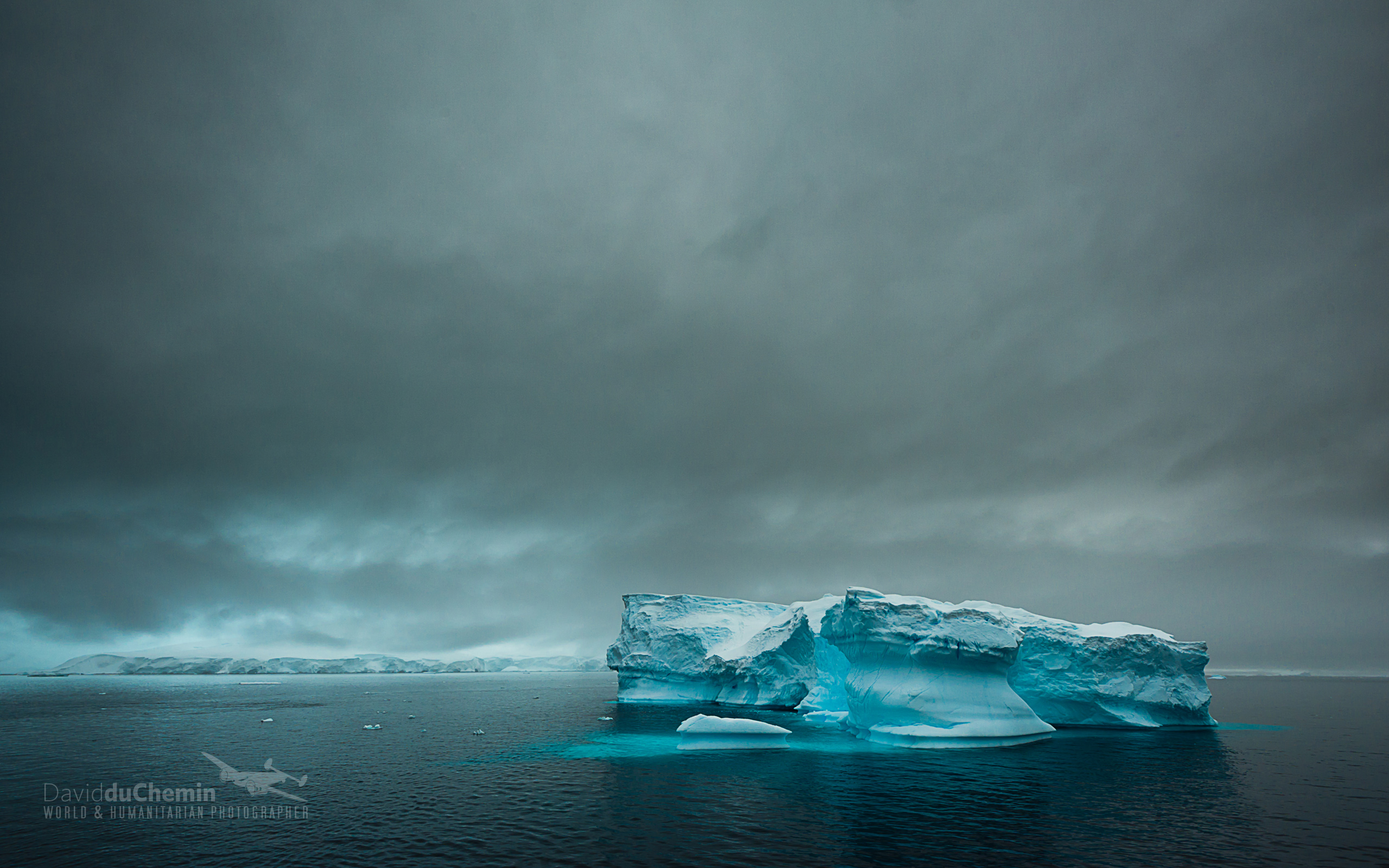Antarctica Dark Clouds Wallpaper   Travel HD Wallpapers 2560x1600