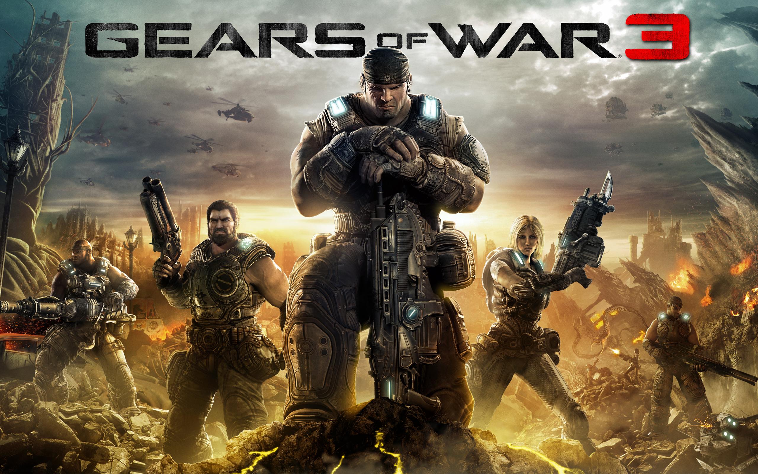 2011 Gears of War 3 Wallpapers HD Wallpapers 2560x1600