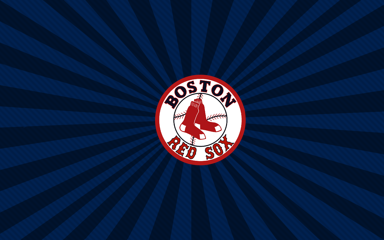 Red Sox Logo with Starburst Background by walhay 1280 x 800 1280x800