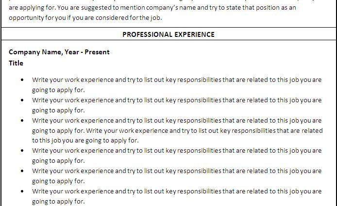 nursing printable resume templates microsoft word detail simple 694x425