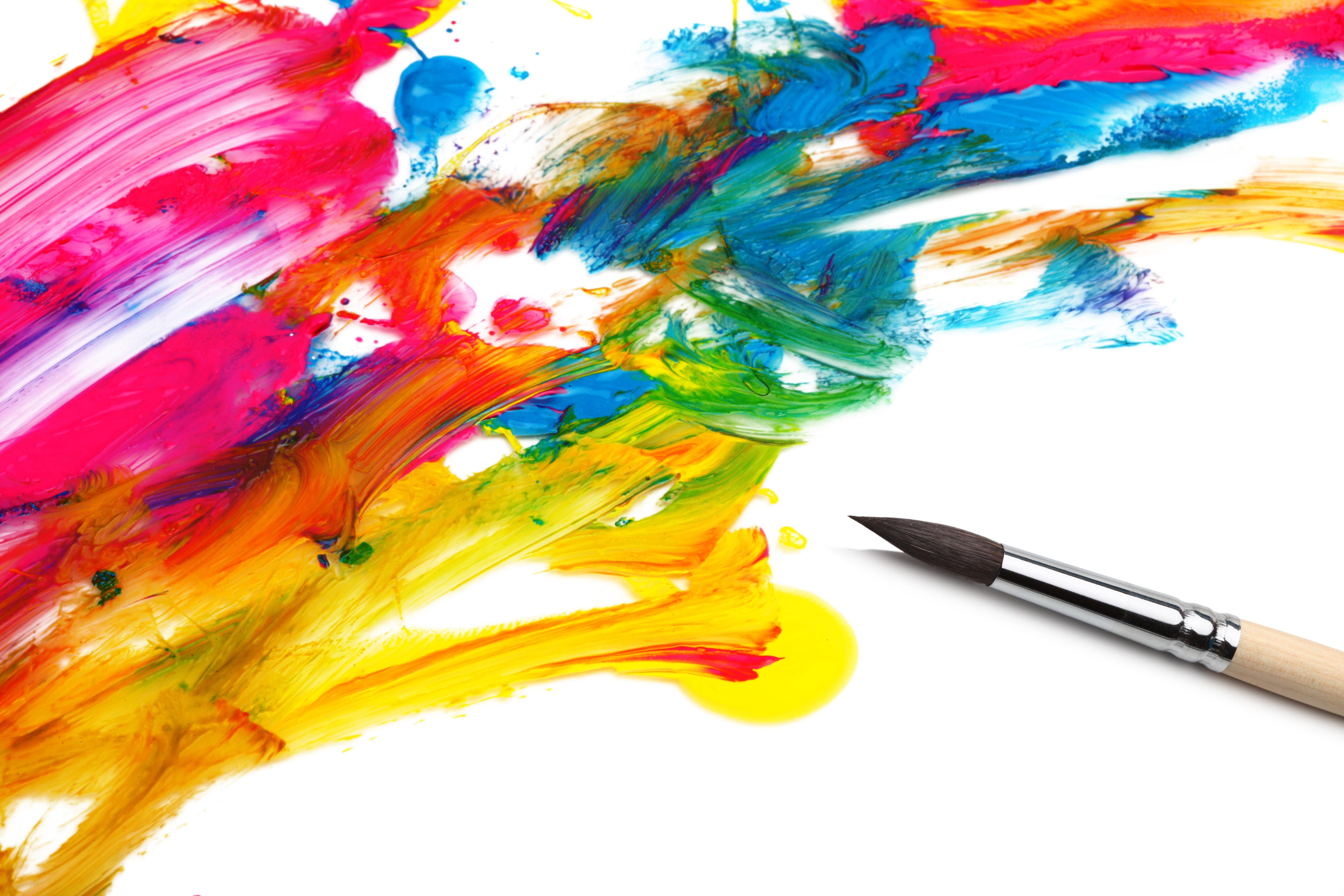 [48+] Paint Brush Wallpaper on WallpaperSafari