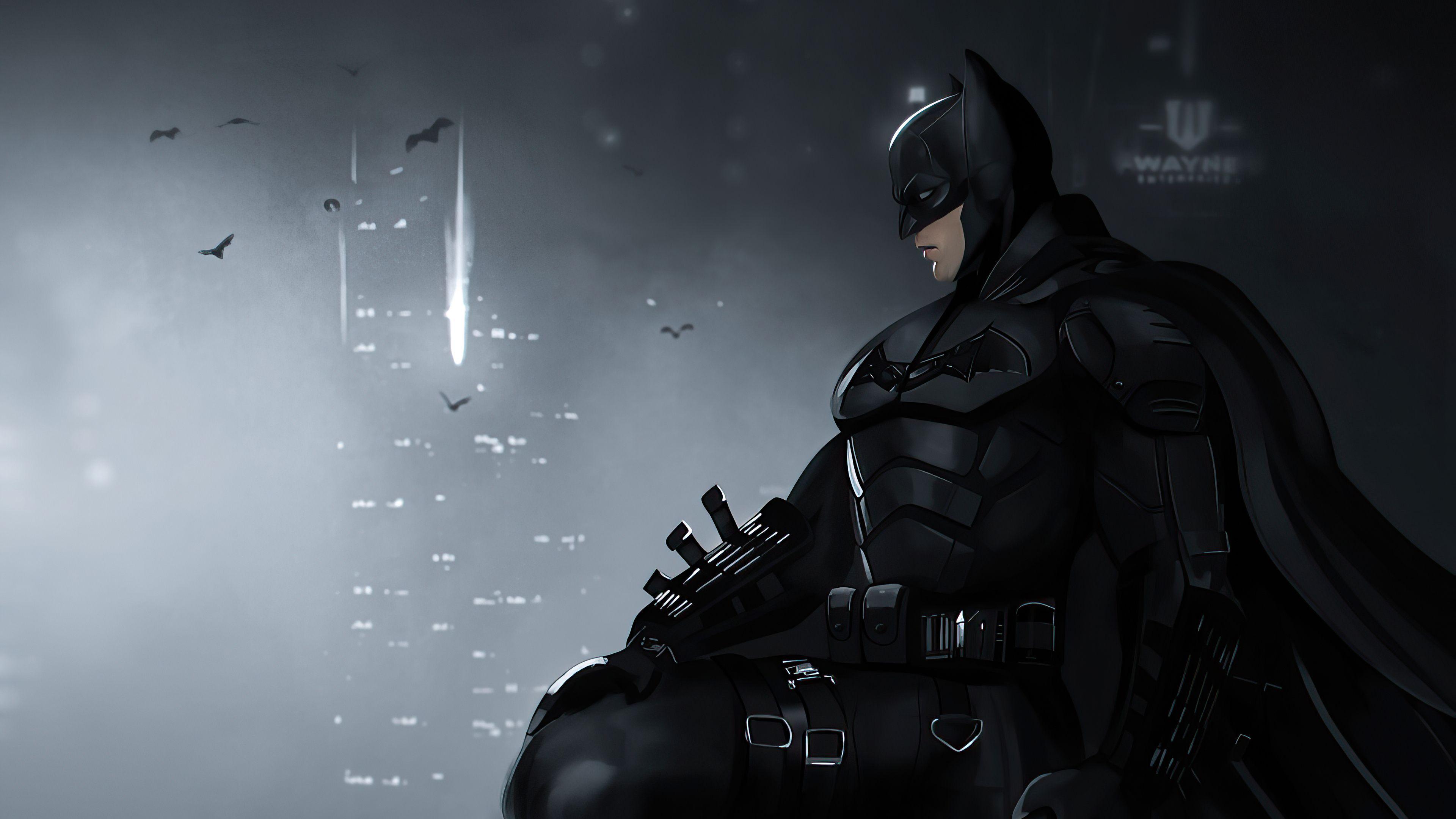 Batman 2021 Desktop Wallpapers 3840x2160