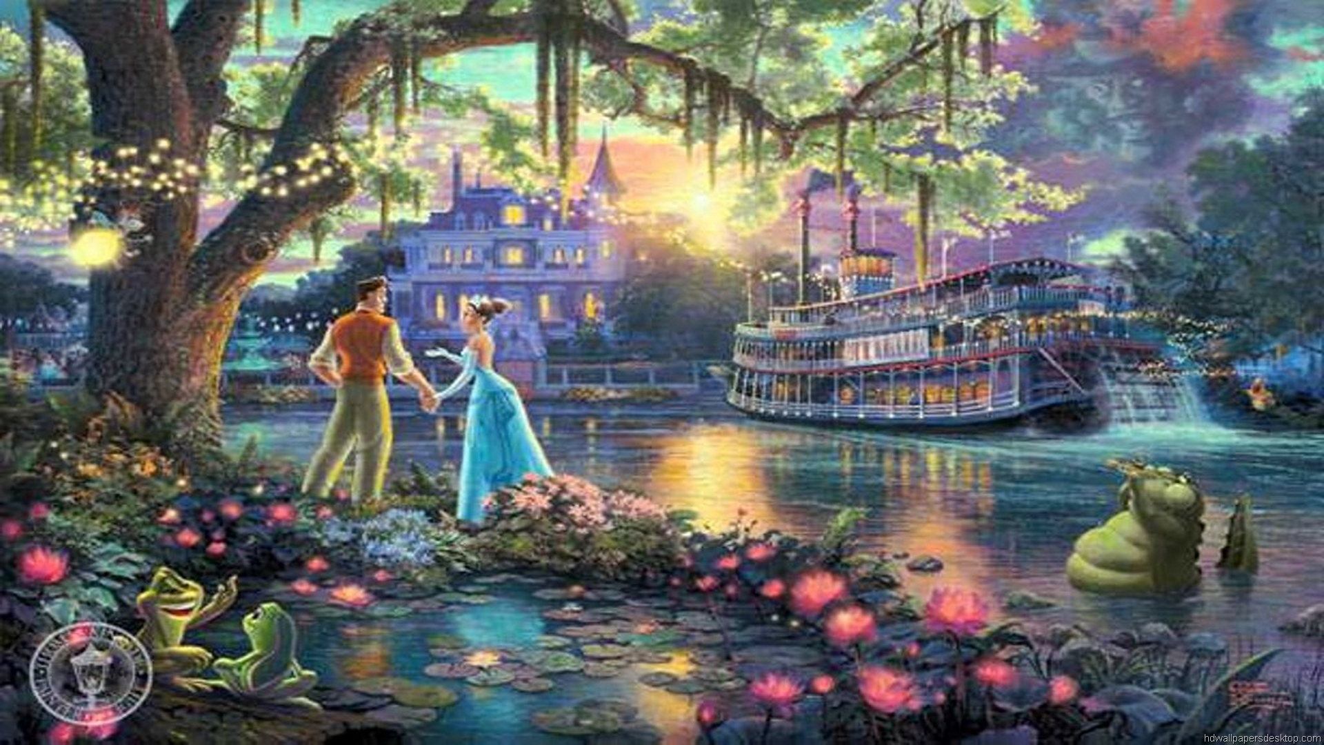 thomas kinkade wallpaper 1920x1080 - photo #5