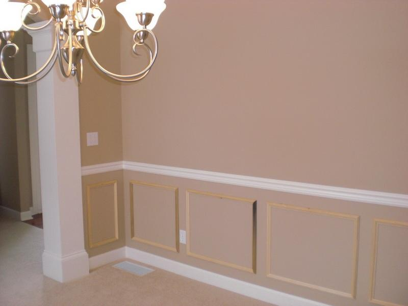 WallsSimple Ways To Install Faux Wainscoting Wallpaper Charming Faux 800x600