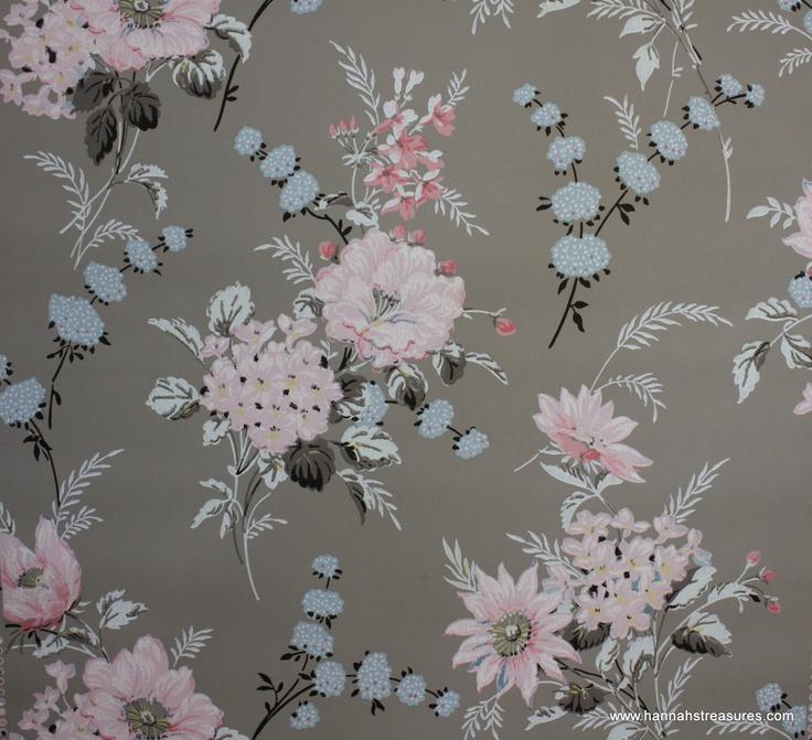 grey vintage wallpaper - photo #27