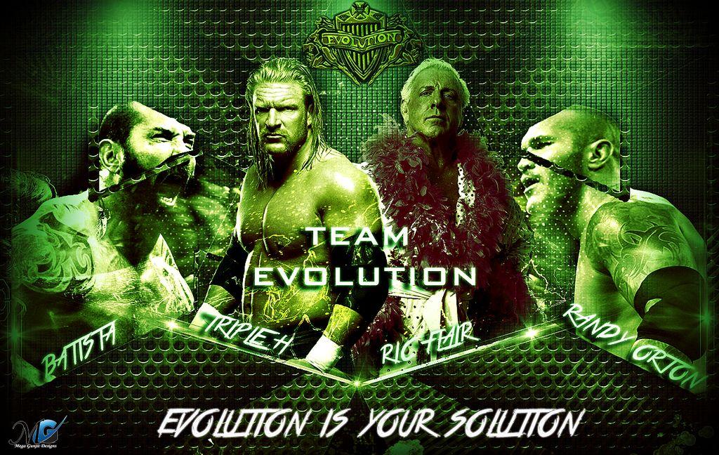 WWE HD Wallpapers   Team Evolution New by Megagunjit 1024x648