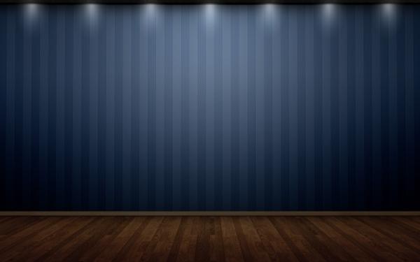 3d view minimalistic wall room wood floor 2560x1600 wallpaper 3D 600x375