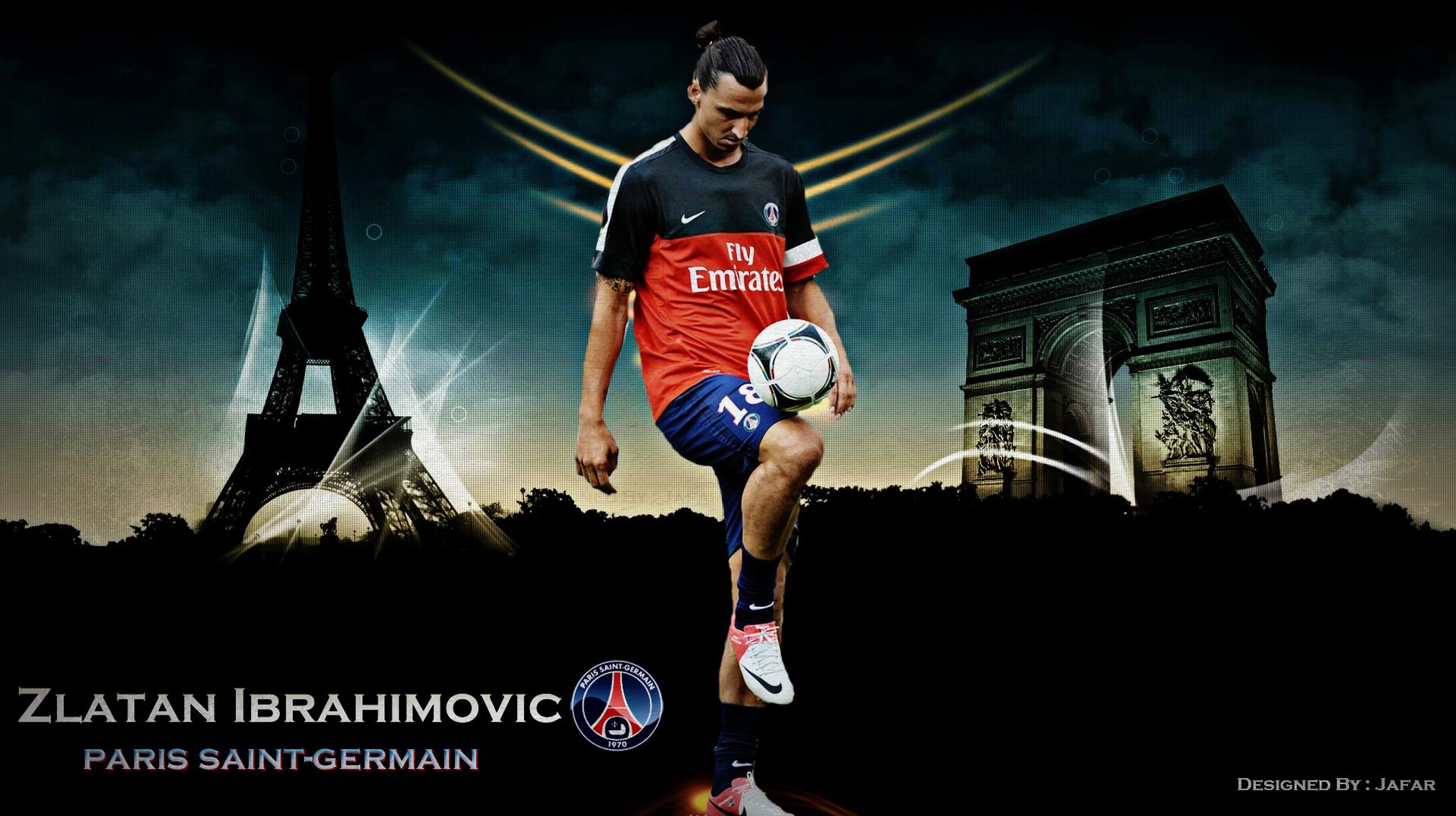 Zlatan Ibrahimovic PSG Exclusive HD Wallpapers 1143 1914x1073