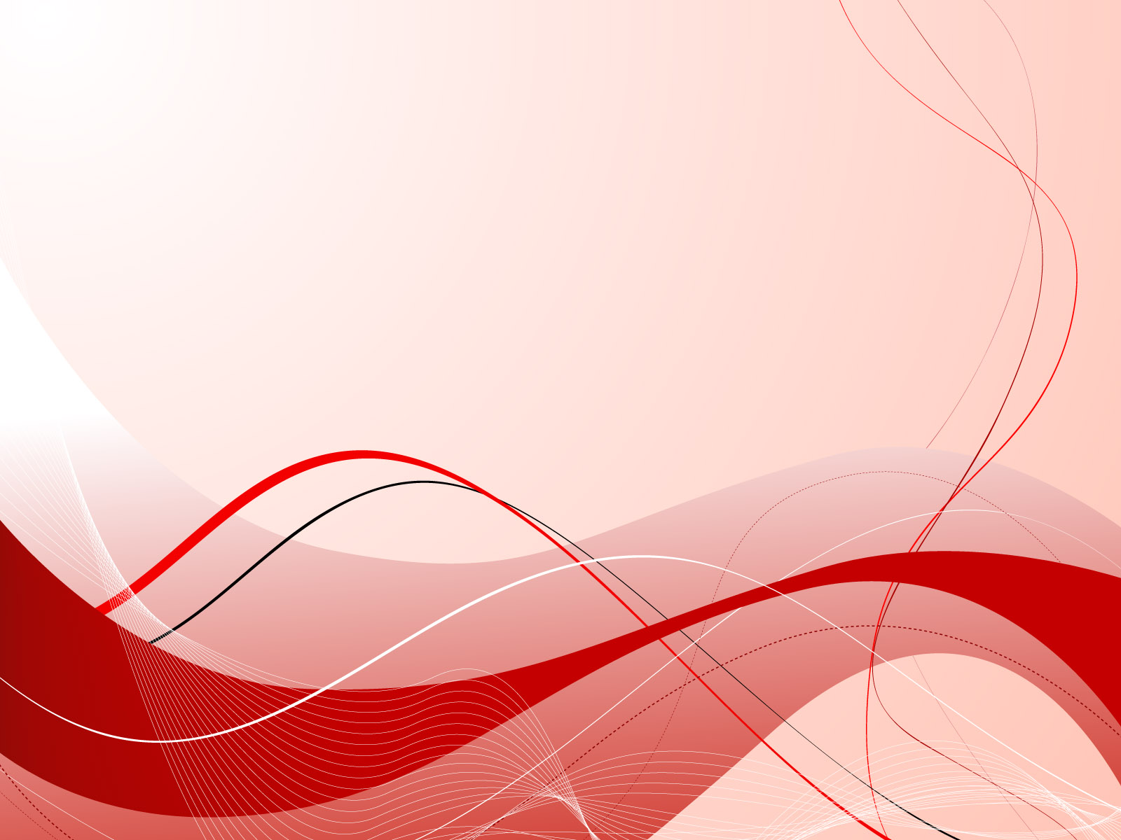 Free Download Red Abstract Composition Ppt Background Red Black