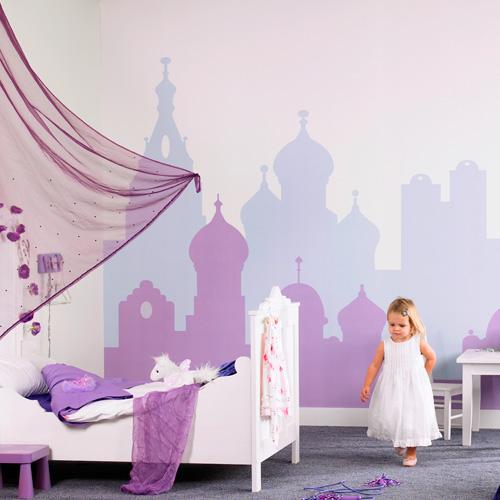 Bohemian Skyline   380024   Digital Mural Paste the wall Easy to hang 500x500