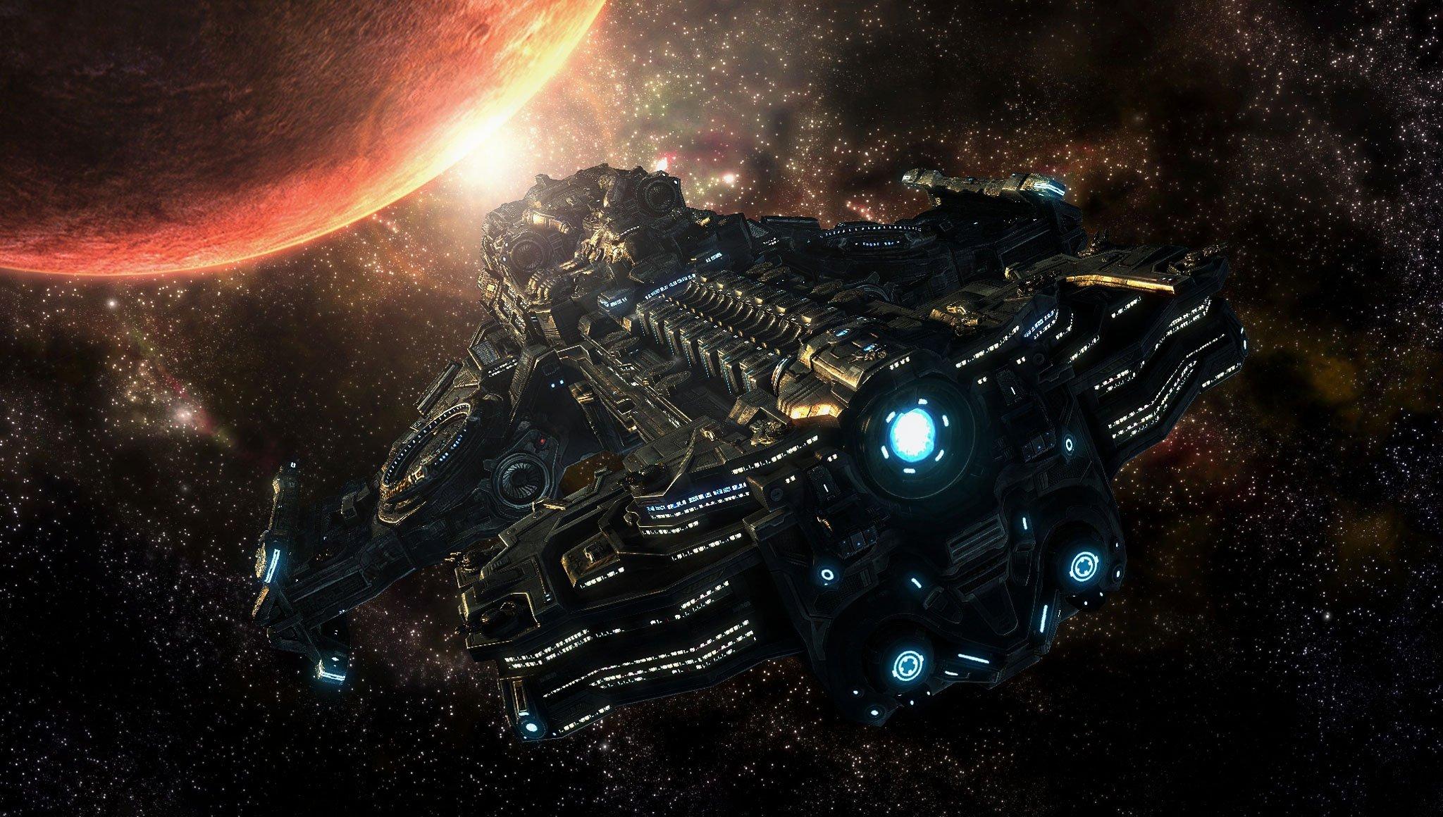 Fuentes de Informacin   Wallpapers Starcraft II Coleccin 2 2048x1160