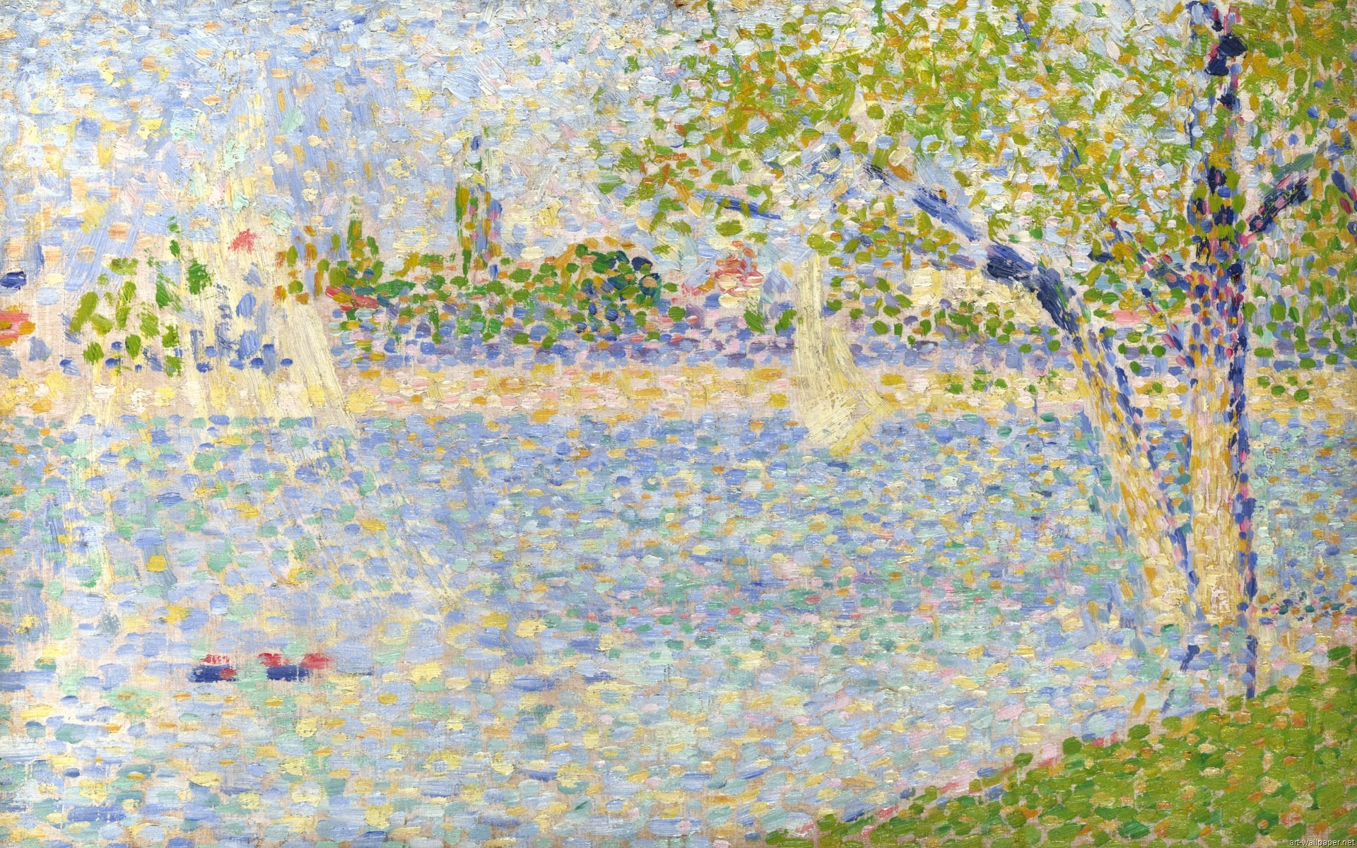 Pin Wallpapers Impressionism Painting Wallpaper 08jpg 1920x1200 on 1920x1200