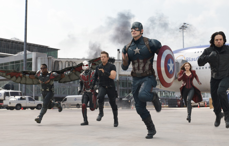 Wallpaper Marvel Falcon Captain America Hawkeye Jeremy Renner 1332x850