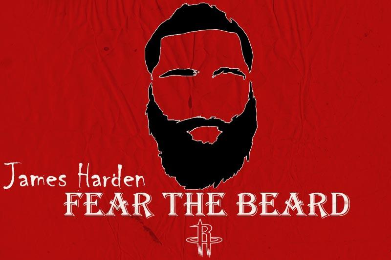 James Harden Fear The Beard Wallpaper 800x533