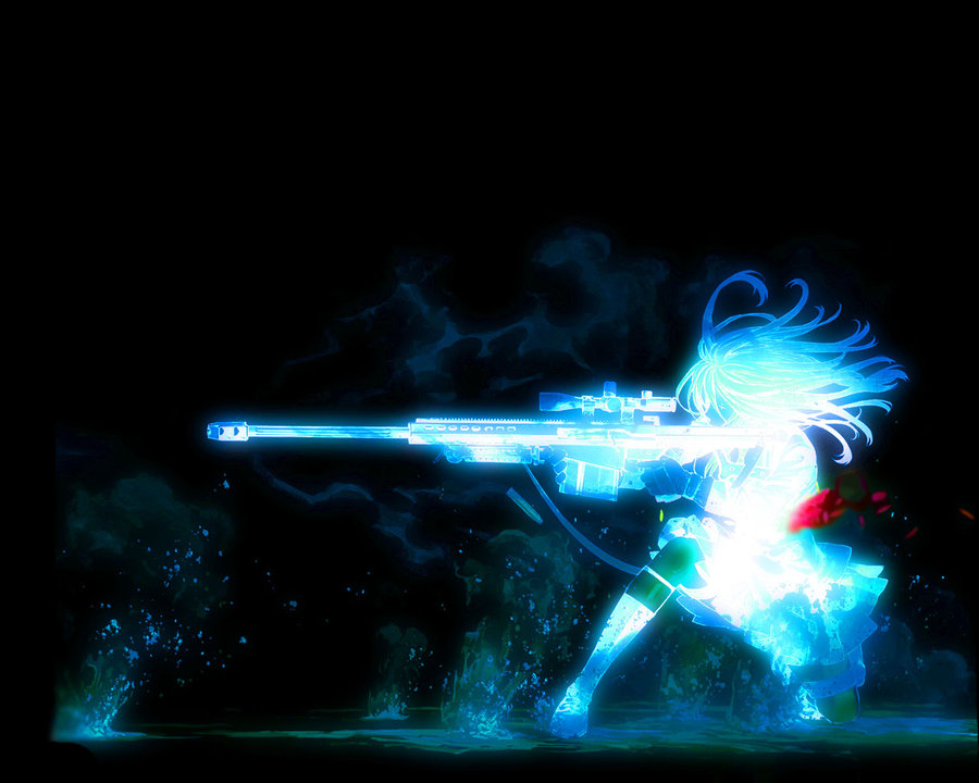 Sniper girl wallpaper by YetAnotherNewb 900x720