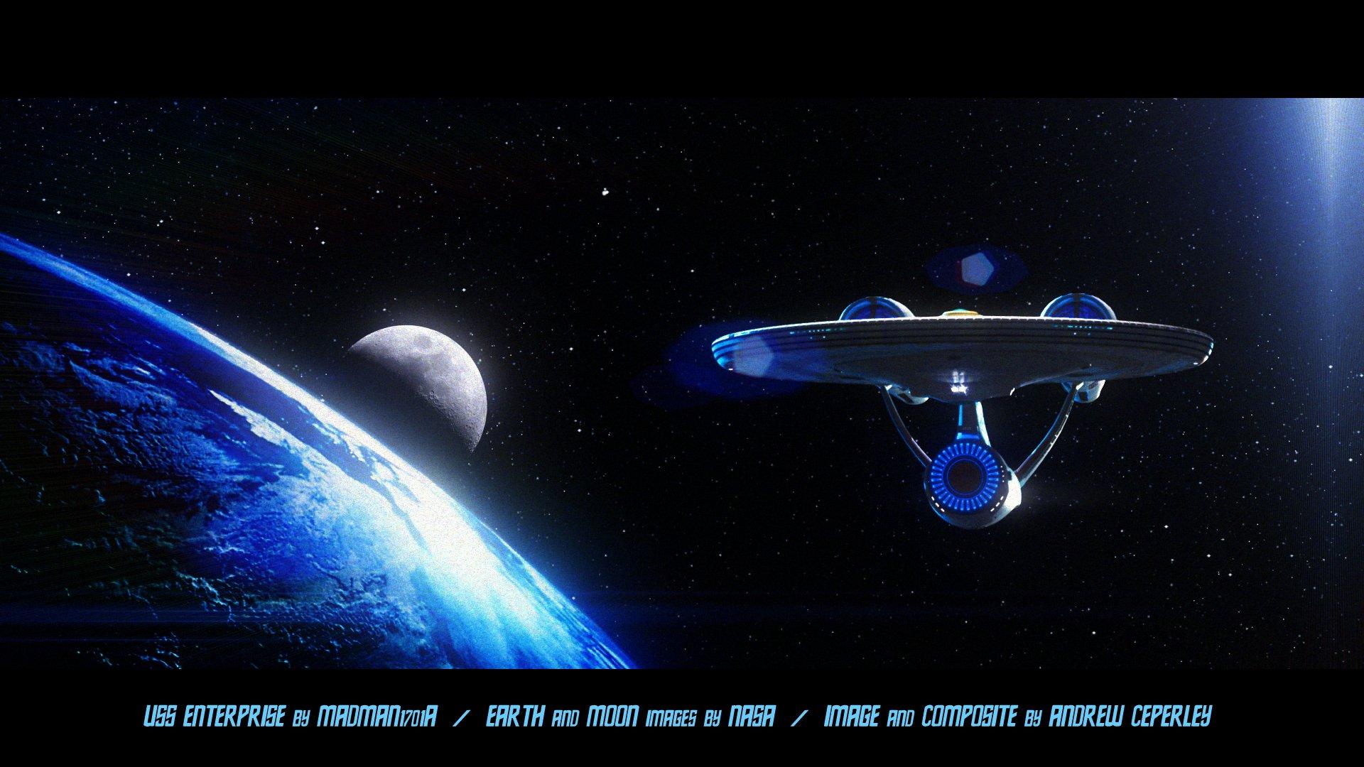 Star Trek Enterprise Ship wallpaper 94735 1920x1080