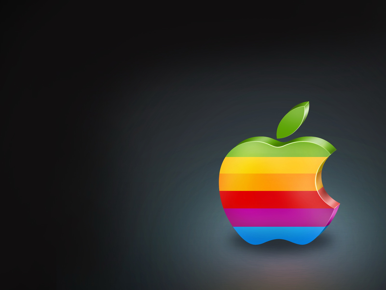 Colorful Apple Logo Wallpapers HD Wallpapers 1600x1200