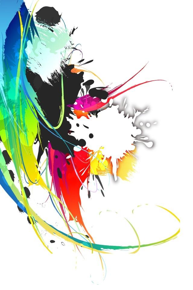 color splash iphone hd wallpaper iphone hd wallpaper download