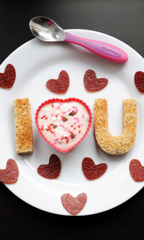 I love you food Live Wallpaper   Android Apps on Google Play 480x800