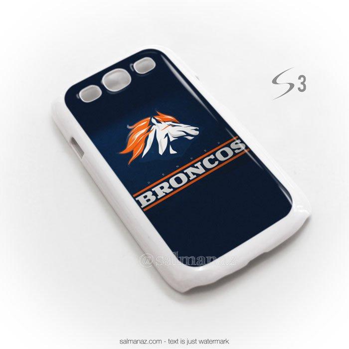 Denver Broncos Logo American football Team Galaxy S3 i9300 Case White 700x700