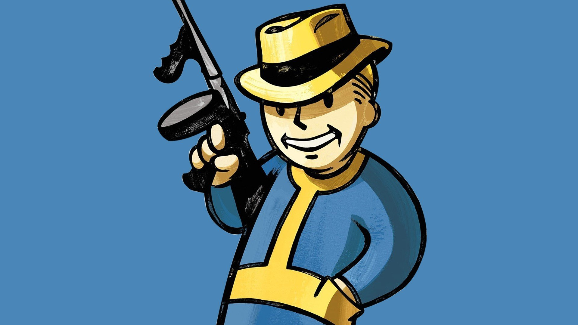 Fallout Vault Boy Wallpaper WallDevil
