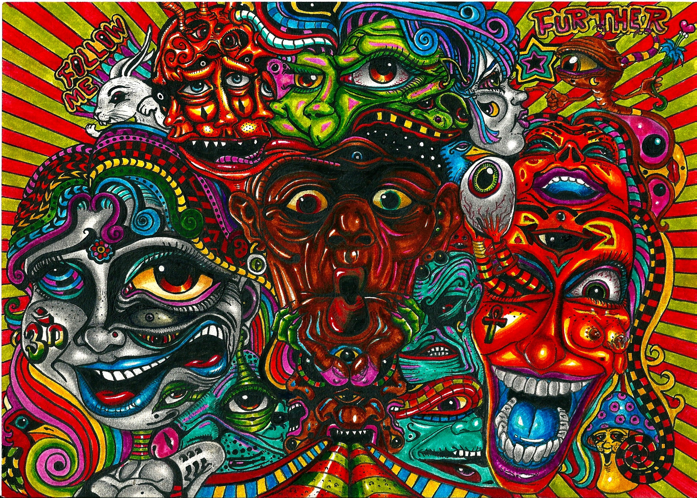 Acid Trip Wallpaper Images Pictures   Becuo 2320x1659