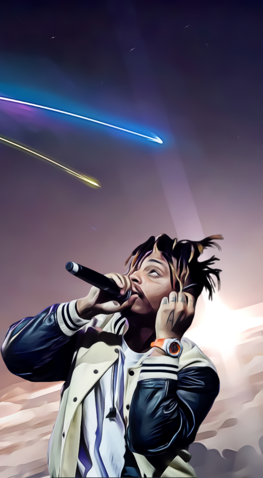 wallpaper JuiceWRLD 888x1614