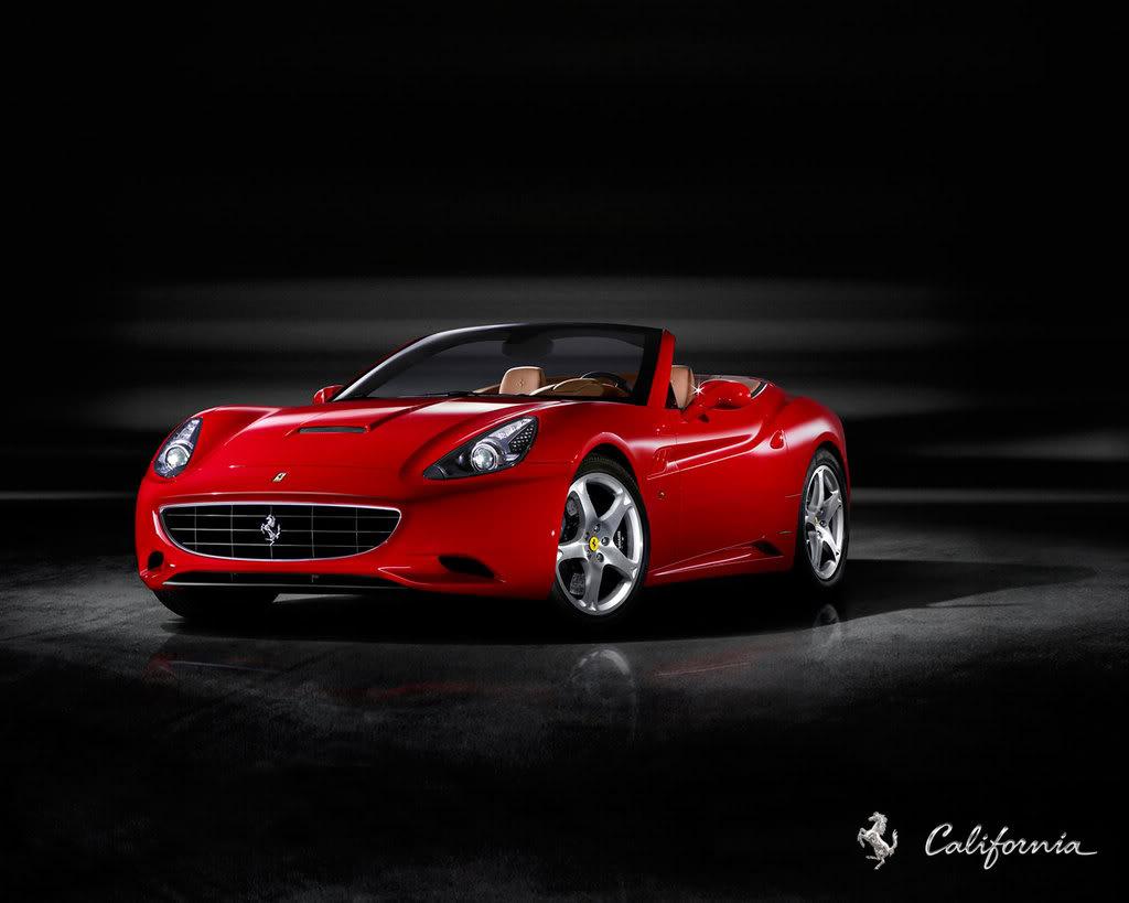 Ferrari California Wallpaper 1024x819