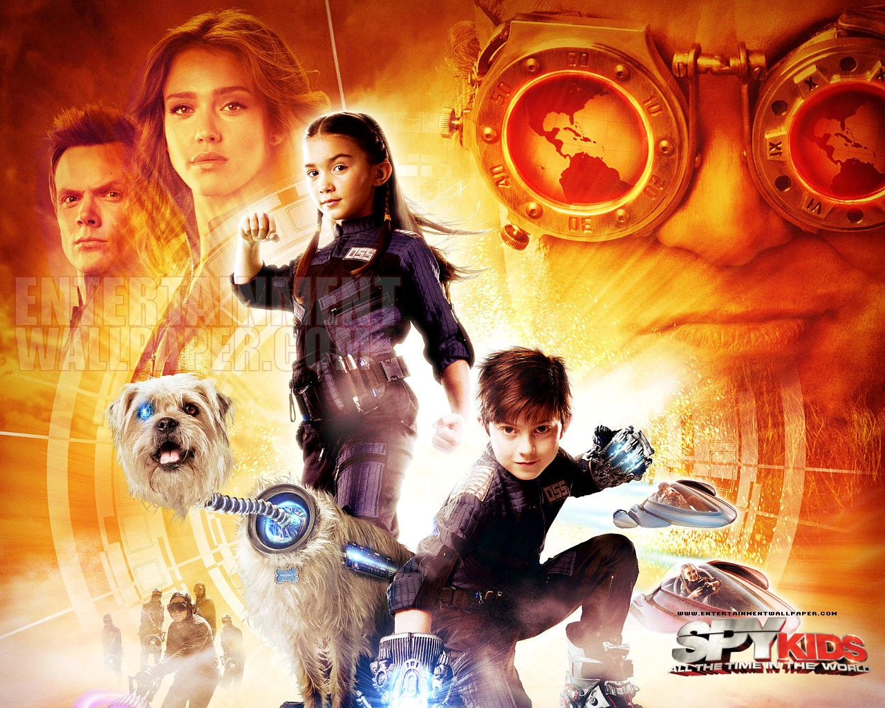 Spy Kids 4 All the Time in the World Wallpaper   10027363 1280x1024 1280x1024